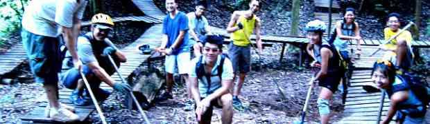 DirT Trail Day at Kent Ridge