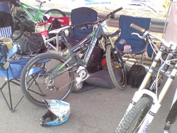 Morewood Mbuzi – AM bike set up as a mini DH bike