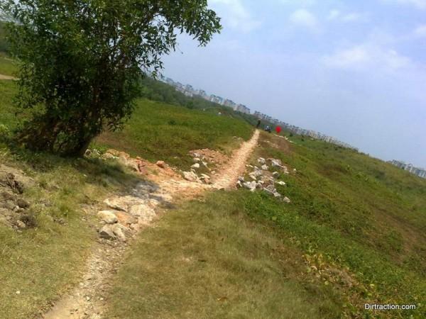 paved horizon hill