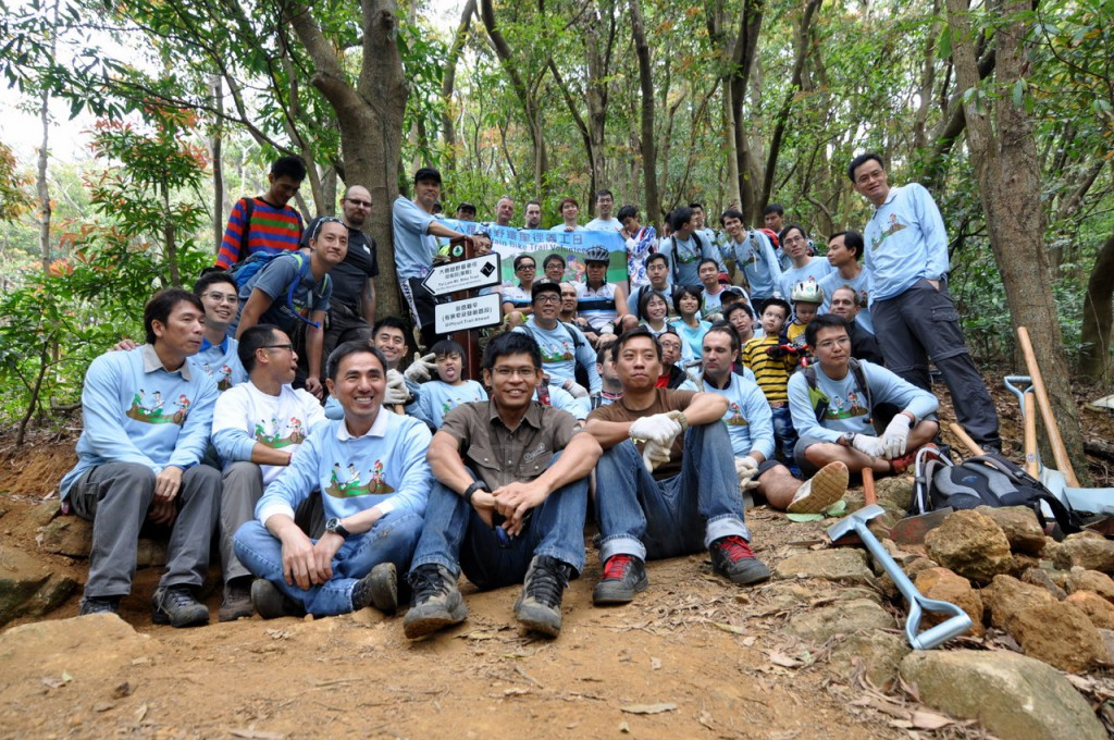 Partnership between HKMBA and AFCD pushes a prospering mountain biking environment - Photo by Steve Cowards (http://crosscountry.hk)